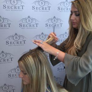 Hair Extensions Salon Deposit