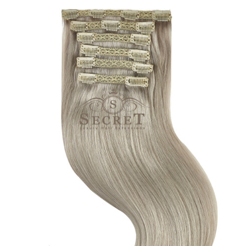 clip-in-hair-extensions-grey-double-drawn