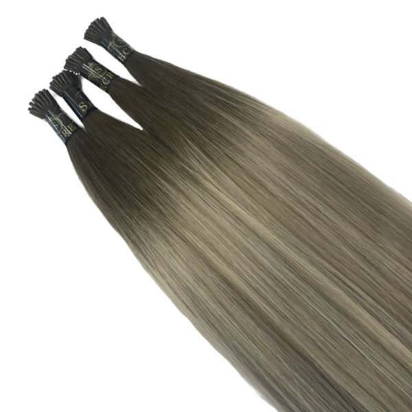 scandinavian ombre micro ring hair extensions tips