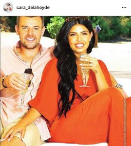 courtesy of Ok! Magazine and cara de la hoyde instagram