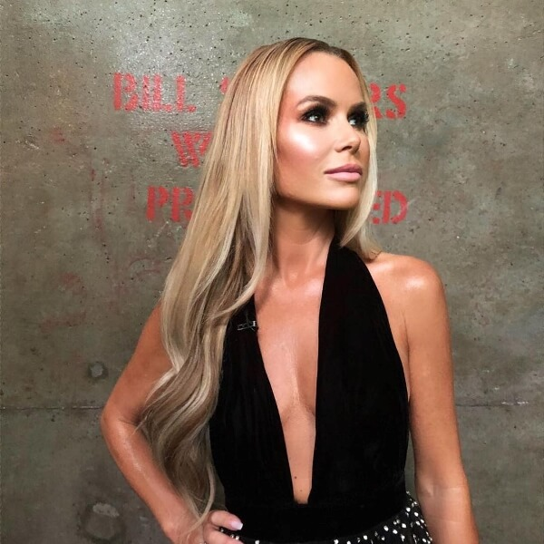 Amanda Holden Celebrity Wearing our Hair