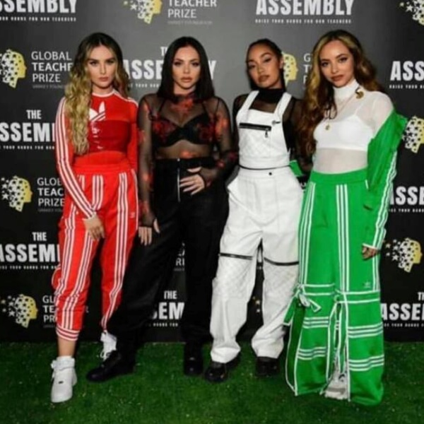 Little Mix Celebrity Wearing Secret Hair Extensions