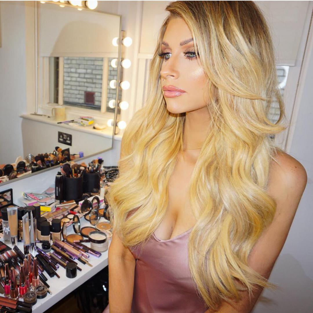 Amanda Holden Tape human hair extensions | remy hair extensions | secret hair