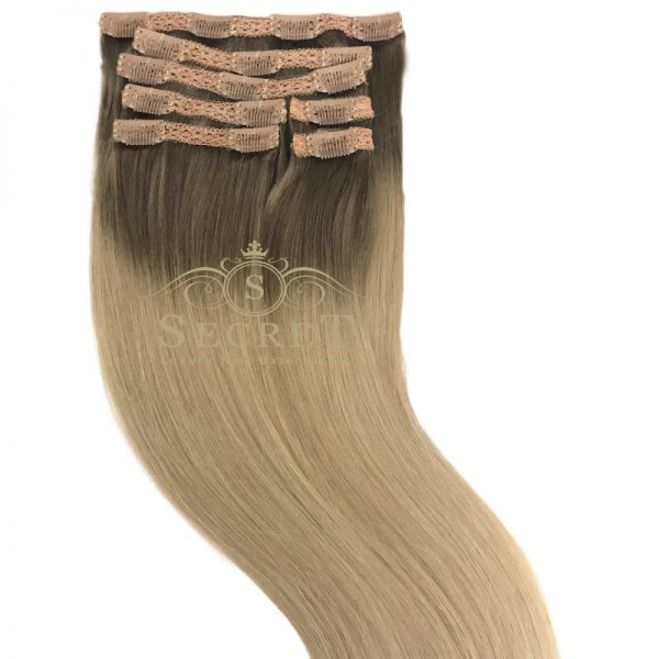 Bergwn Blonde Clip In Hair Extensions