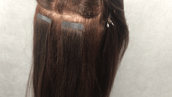 DIY Tape In Hair Removal At Home