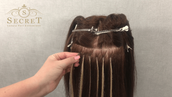remove micro ring hair extensions at home