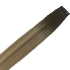 tape in hair extensions Scandinavian blonde