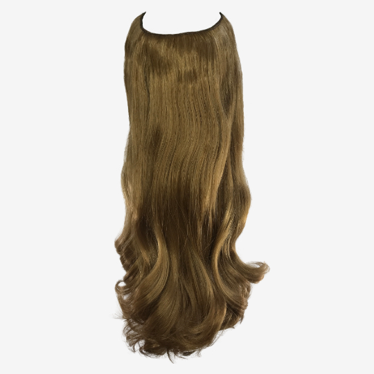 Synthetic Hair Extensions Ash Brown 10