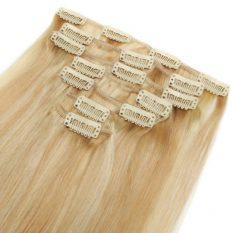 clip in hair extensions blonde 18-22 540
