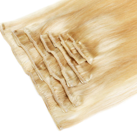 clip in hair extensions blonde 22- 540