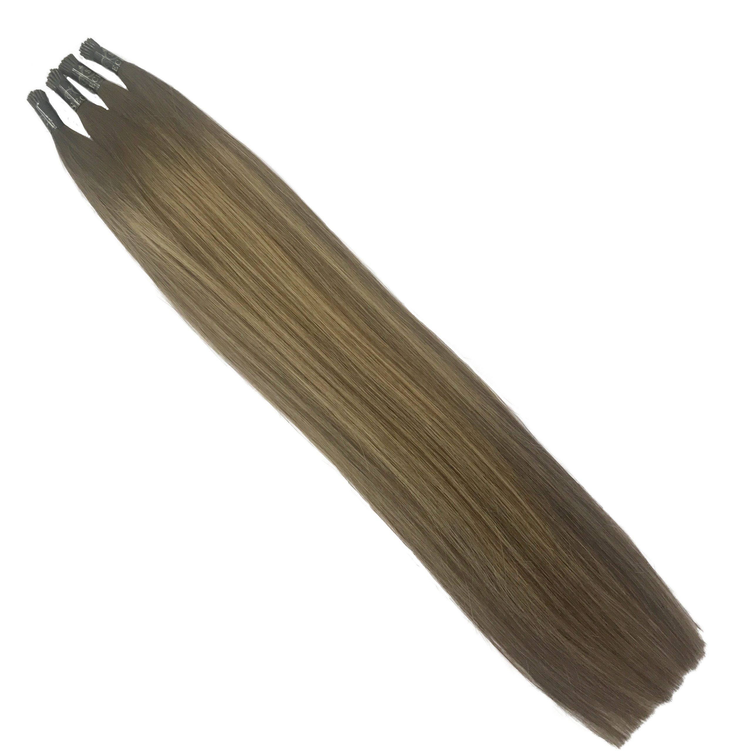 mocha melt micro ring hair extensions double drawn