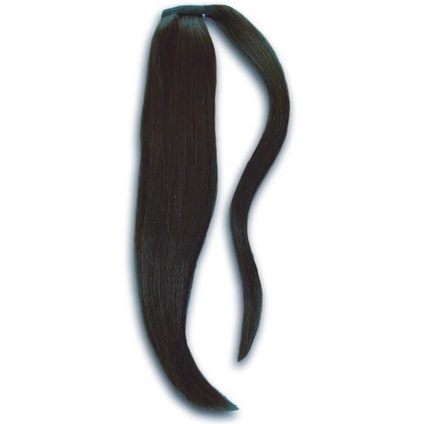 1b Darkest Brown Ponytail